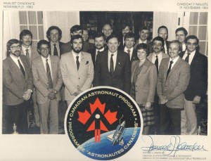 The Original Canadian Astronaut Finalists